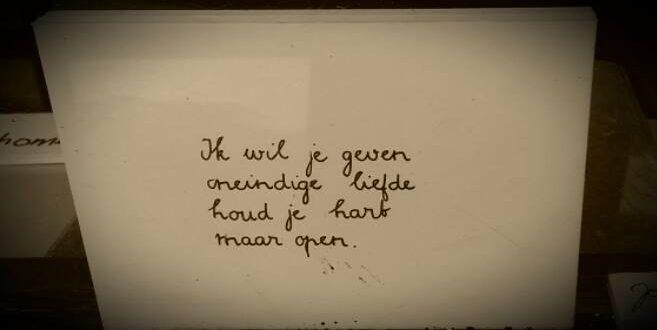 liefde geven, hart openen